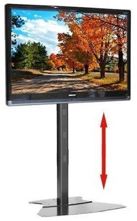 Höhenverstellbarer Plasma LCD TV Standfuß CHIMF1UB in Schwarz