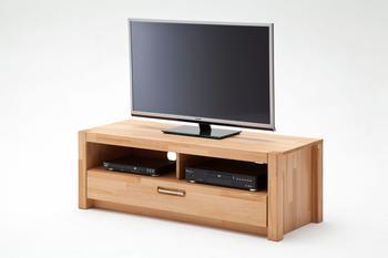MCA Furniture TV-Element 1250 mm Kernbuche massiv