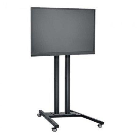 LCD LED TV Standfuß Trolley für Displays bis 65 Zoll 150 cm