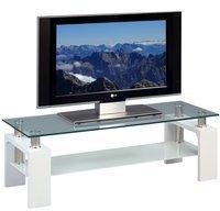 Fun Möbel Lowboard TV Schrank - Arne - 118 x 39 cm Dekor Weiss matt