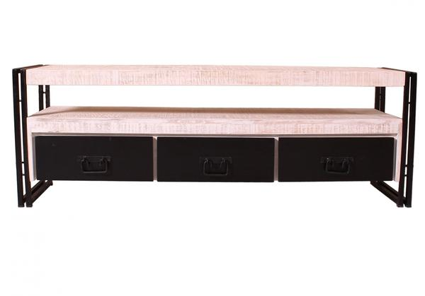 SIT TV-Lowboard White Panama 160cm