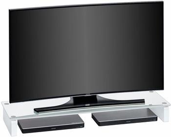 Maja 1612 TV-Board 110cm Weißglas