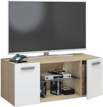 vcm-jusa-tv-lowboard-950-mm-eiche-sonoma-weiss