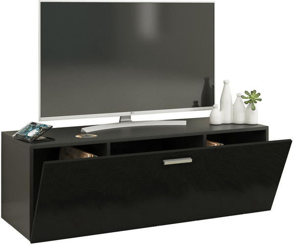 VCM TV-Wandboard Fernso 115cm Schwarz
