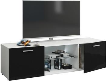 vcm-jusa-tv-lowboard-950-mm-schwarz-weiss-hochglanz