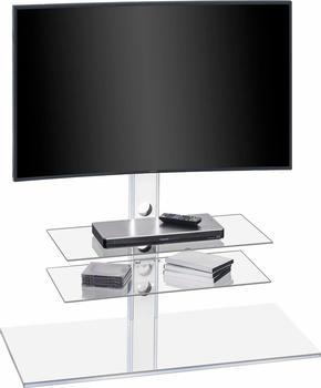Maja 1630 TV-Rack 100cm Weißglas