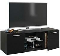 VCM Lowina TV-Lowboard 1150 mm weiß Hochglanz