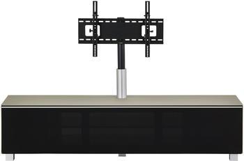 maja-moebel-7740-soundboard-glas-sand-matt-akustikstoff-schwarz