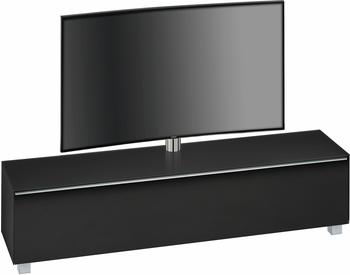 Roller Soundconcept 7740 TV-Lowboard schwarz/Schwarzglas matt