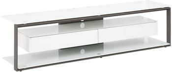 Maja JOICE 5206 TV-Rack 170cm anthrazit/Weißglas