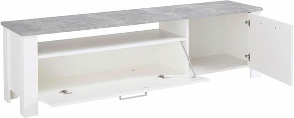 Steinhoff Zabona 165 cm grau-weiß (15586056)