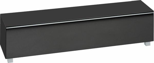 Maja 7738 Soundboard Schwarzglas matt/Akustikstoff schwarz