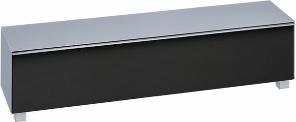Maja 7738 Soundboard Glas himmelblau matt/Akustikstoff schwarz
