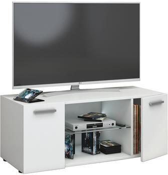 VCM TV-Lowboard Lowina 95cm Weiß