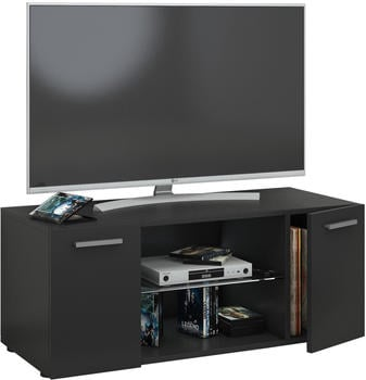 VCM TV-Lowboard Lowina 95cm Schwarz