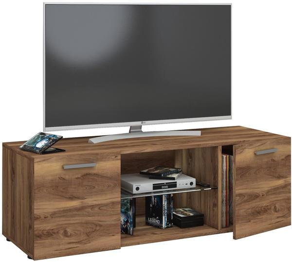 VCM TV-Lowboard Lowina 115cm Kern-Nussbaum