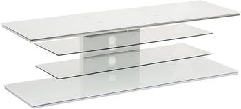 Maja 7725 TV-Rack 140cm Weißglas