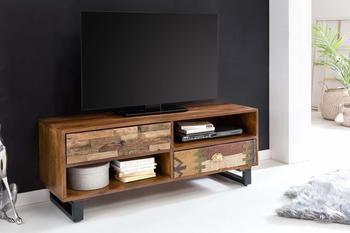 wohnling-tv-lowboard-patna-120-x-47-x-40-cm-massiv-holz-hifi-regal-mango-natur-landhaus-stil-fernseher-kommode-mit-schubladen-tv-board-fernsehschrank