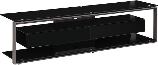 Maja JOICE 5206 TV-Rack 170cm anthrazit/Schwarzglas