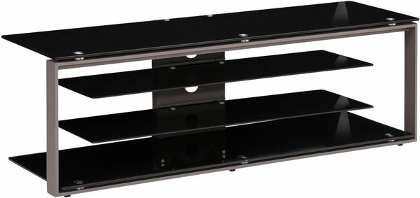 Maja JOICE 5200 TV-Rack 130cm anthrazit/Schwarzglas