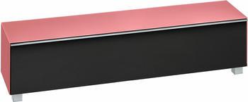Maja 7738 Soundboard Glas hibiskus matt/Akustikstoff schwarz