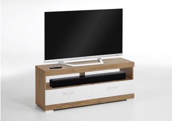 FMD Bristol TV-Lowboard 1200 mm braun