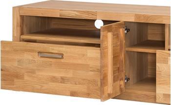 MCA Furniture TV-Unterteil Lowboard 185 cm Wildeiche teilmassiv geölt Woody 153-00257