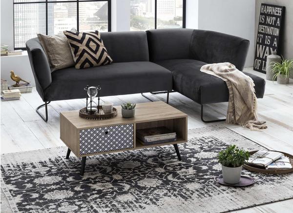 SIT Möbel Lowboard Skandinavisch Littera mit 1 Schubkasten