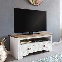 wohnling-kiefer-massivholz-tv-board-landhaus-mit-2-schubladen-100x45x45-cm-weiss