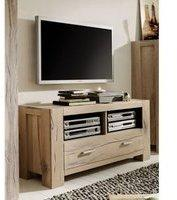 SIT Möbel TV-Unterteil Wildeiche white wash massiv Woody 11-01495