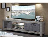 Wohn-Concept Granada TV-Lowboard 1800 mm grau