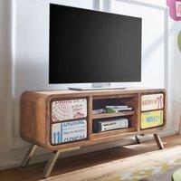 Wohnling Aika TV-Lowboard 1300 mm Sheesham
