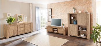 Home affaire Basano TV-Lowboard 1760 mm Akazie/natur