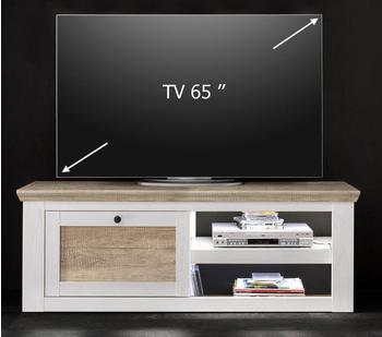 Forestdream Barcelona TV-Lowboard 1500 mm weiß/Eiche