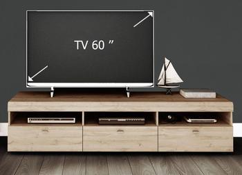 Loft II TV-Lowboard 1828 mm Grandson eichefarben hell