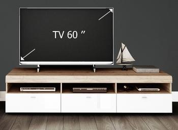 YOURHOME Loft III TV-Lowboard 1828 mm weiß