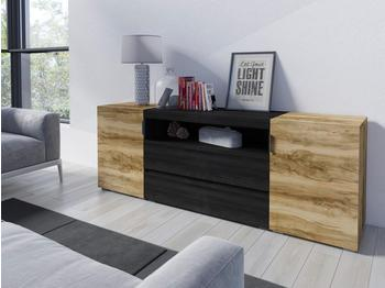 NECKERMANN Alegra TV-Lowboard 1850 mm satinnussbaum/touchwoodfarben