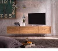 DeLife Wyatt TV-Lowboard 1750 mm 1 Klappe 2 Türen Akazie Natur