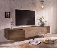 DeLife Wyatt TV-Lowboard 175 cm 1 Klappe 2 Türen Akazie Braun