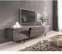 DeLife Wyatt TV-Lowboard 1750 mm 2 Türen 1 Klappe Akazie Platin