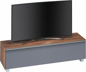 Maja Möbel 7730 Soundboard Eiche dunkel/Akustikstoff grau