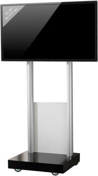 VCM TV-Standfuß Monte-Visolo 1 schwarzlack