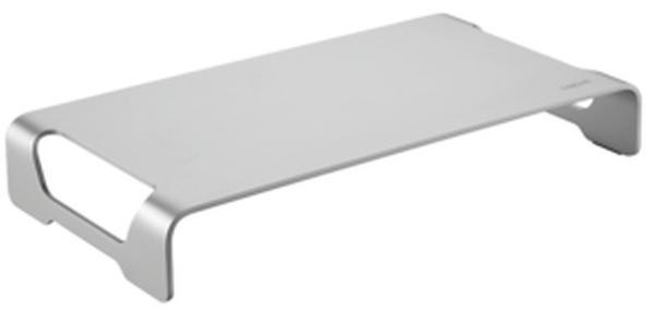 Logilink Tabletop monitor riser, aluminum Monitor-Erhöhung Höhen-Bereich: 6.3cm (max) Silber