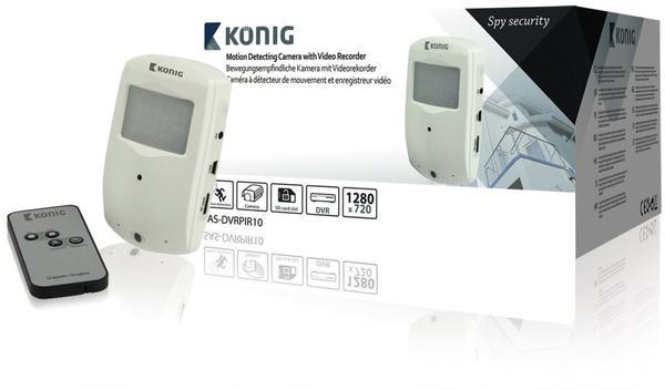 König Electronic Detektor Versteckte Kamera SAS-DVRPIR10