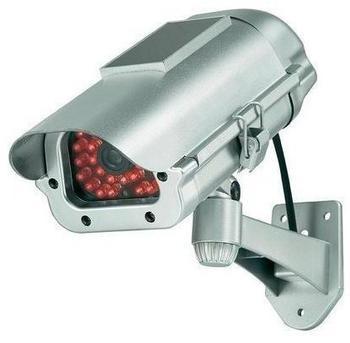 Renkforce Kamera-Attrappe inkl. Solarmodul & IR-Simulation