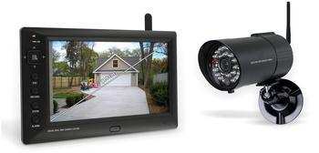 smartwares Digitales 4-Kanal Echtzeit-Kamerasystem, CS85DVR SW