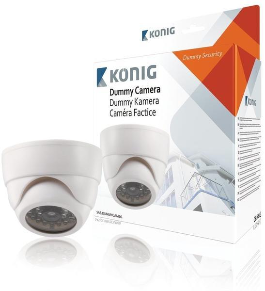 König Electronic Dummy-Dome-Kamera SAS-DUMMYCAM60