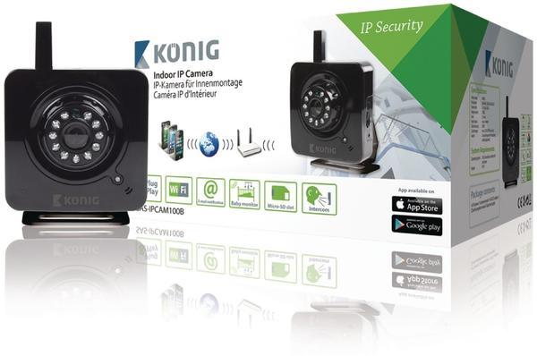 König Electronic IP-Kamera SAS-IPCAM100B