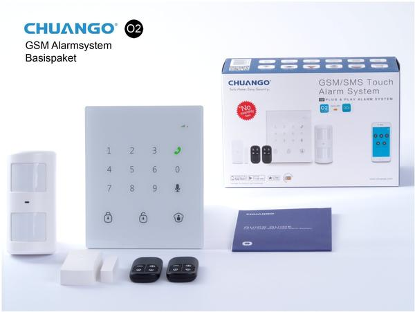 Chuango CG-GO2 GSM/SMS Alarm System,