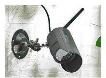 VisorTech Wetterfeste Infrarot-Kamera DSC-410.IR mit Funkübertragung